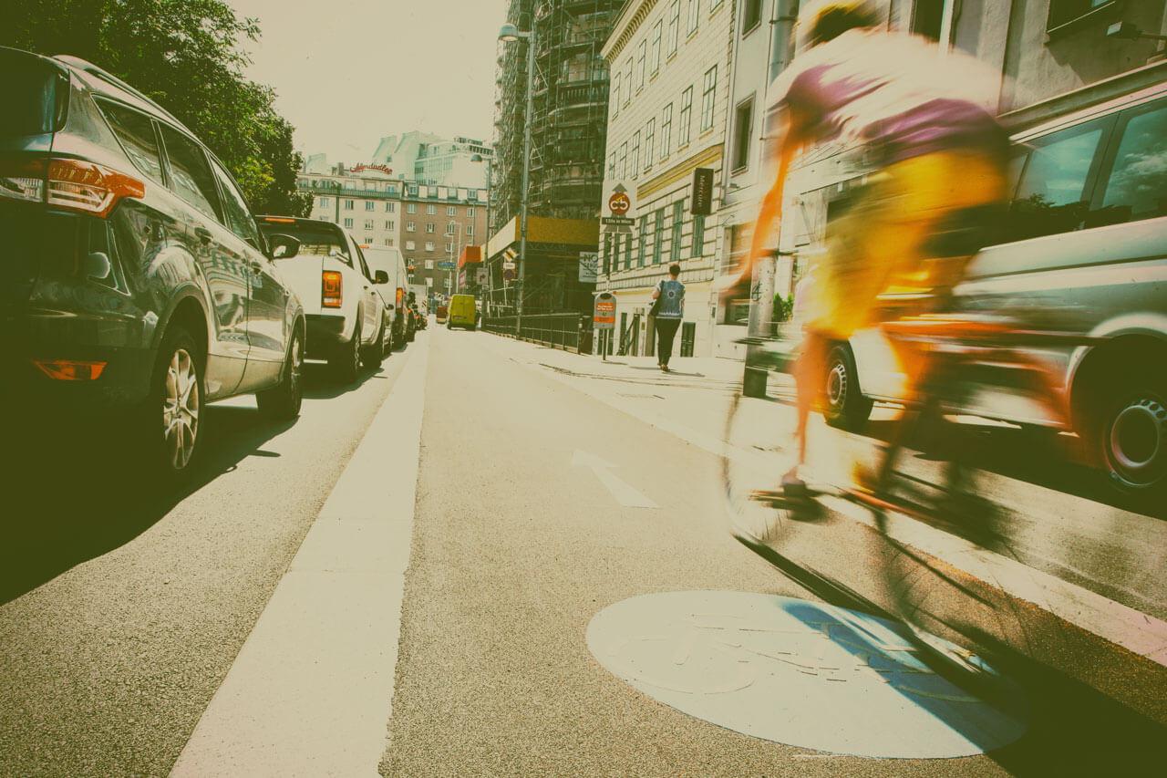 Radweg Getreidemarkt (Foto: MA 28 Christian Fürthner)